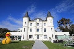 exterieur et entree Chateau des Tourelles - Pornichet